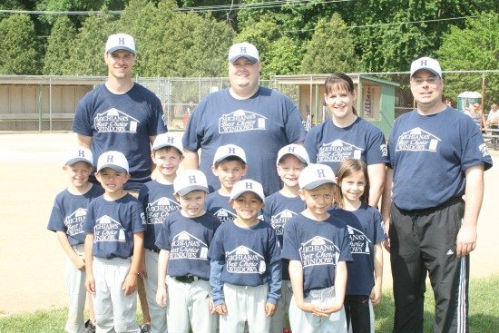 We proudly support our local youth baseball programs.